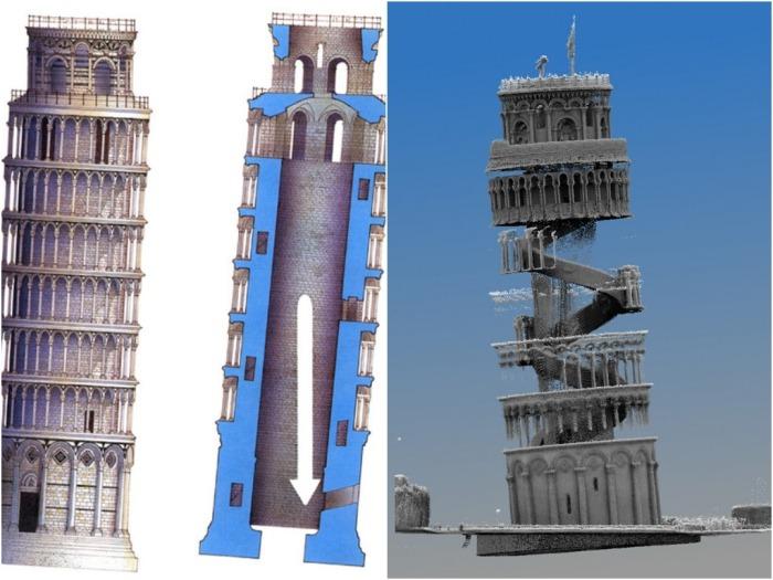 В результате подобных действий наклон составил ни много ни мало 90 сантиметров / Фото: forums.sketchup.com