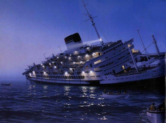 Создатель подлодки мечтал спуститься на ней к месту, где затонул лайнер «Andrea Doria» / Фото: forum.worldofwarships.com