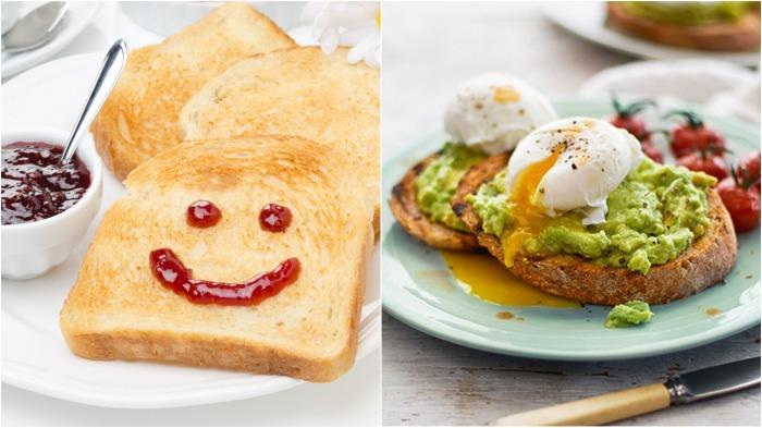 Тосты – очень распространенный вариант завтрака, простой и быстрый в приготовлении / Фото: bit.ua