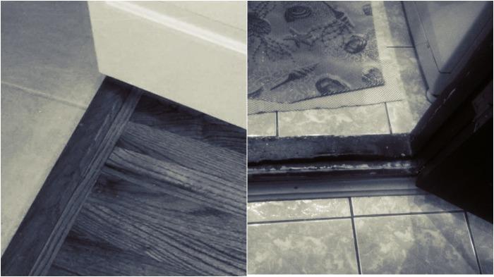 Комнаты старых сталинках раздельные, а в дверях имеются пороги. Казалось бы, вообще не понятно, зачем они нужны, ведь только мешают / Фото: remontnik.ru