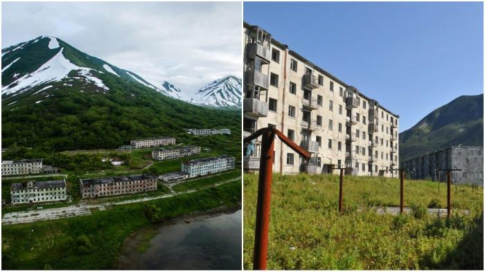 Некогда оживленный населенный пункт стал призраком / Фото: poradu.pp.ua