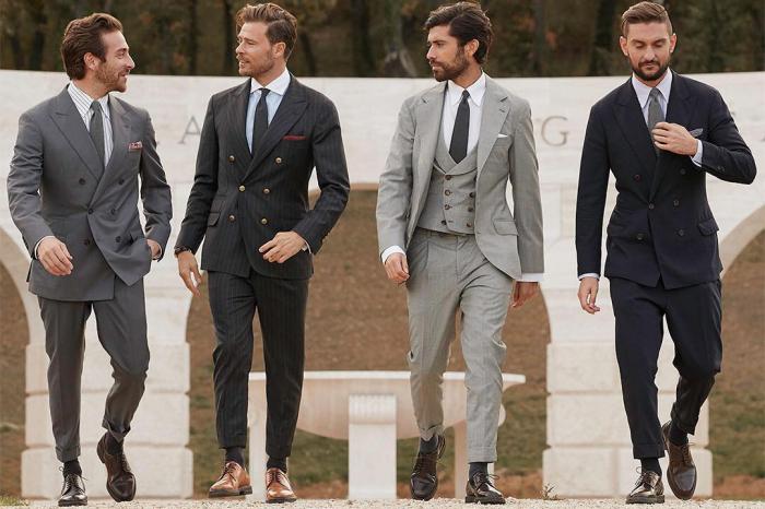 Почему нижняя пуговица на мужском пиджаке должна быть расстегнута