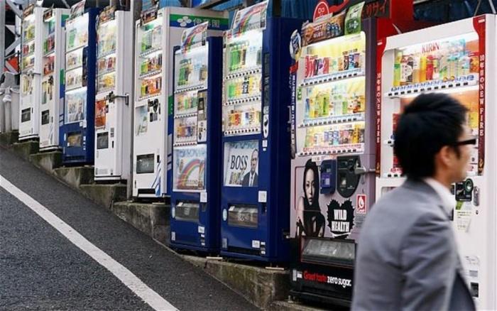 В Стране восходящего солнца в уличных автоматах можно купить абсолютно все / Фото: polymus.ru