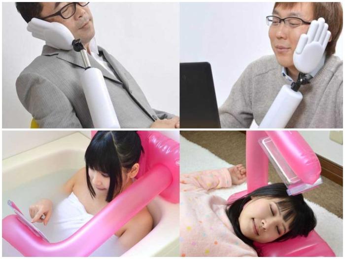 Умные жители Японии стараются максимально облегчить себе жизнь, внедряя самые нелепые изобретения / Фото: mirtesen.ru