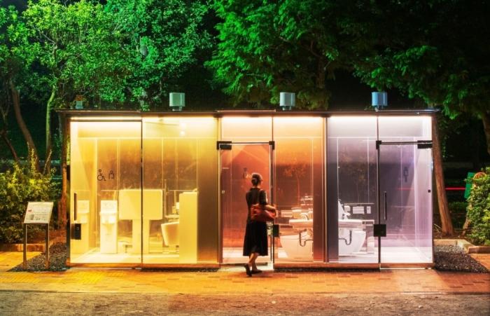 Непонятным на первый взгляд изобретением является туалет с прозрачными стенками / Фото: blogssmartzone.com