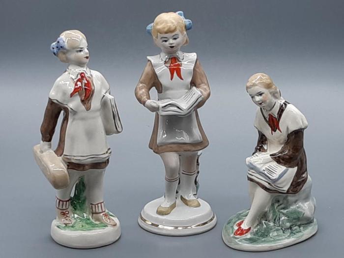 Фарфоровые статуэтки времен СССР / Фото: auction.ru