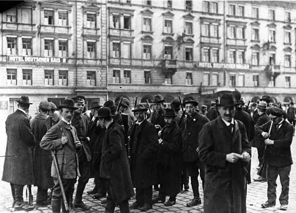 Баварская советская республика была провозглашена коммунистами / Фото: historisches-lexikon-bayerns.de