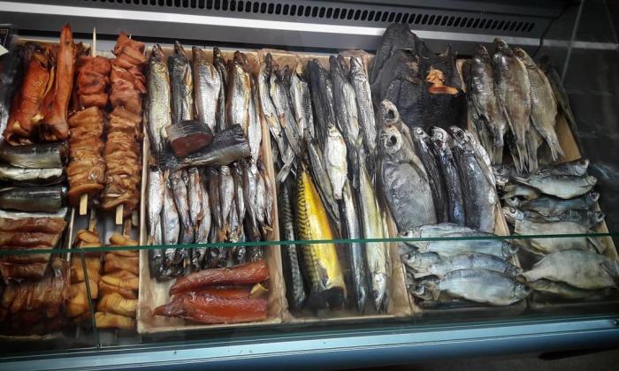 Каждый четверг каждый мог попробовать разные блюда из рыбы / Фото: instagram.com