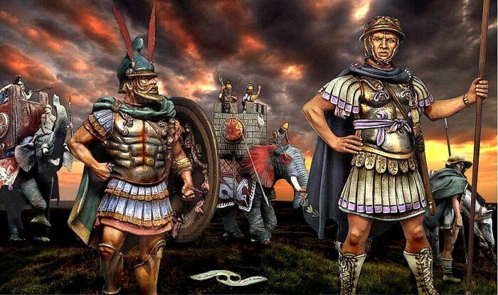 кираса превратилась в отличительную черту командиров римских солдат / Фото: pinterest.ru