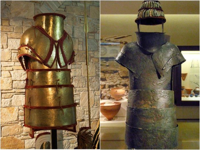 Первые кирасы были сплошными и состояли из двух металлических согнутых пластин / Фото: amp.topwar.ru