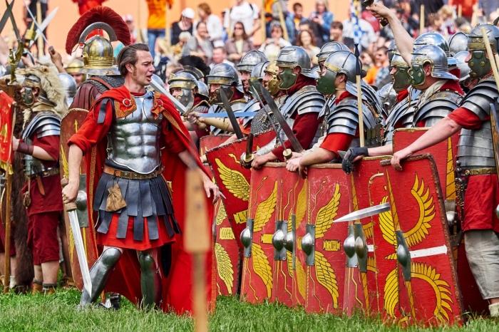 у римлян легион не появился в одночасье, на создание классической формы данной структуры ушли столетия / Фото: ВКонтакте