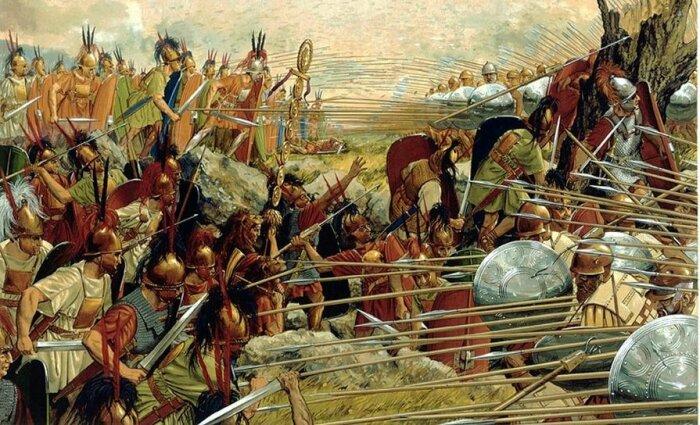 Греки на себе испытали все преимущества системы легиона в 197 г. до нашей эры во время битвы при Киноскефалах / Фото: Twitter