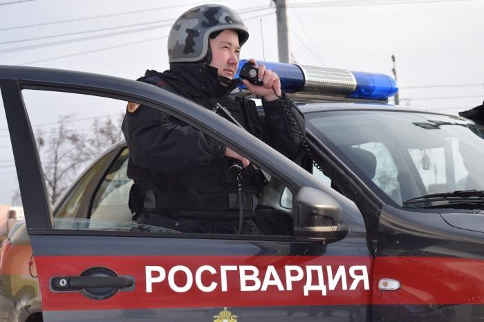 В некоторых случаях на дороге можно встретить сотрудников Росгвардии, которые останавливают автомобили / Фото: m.123ru.net