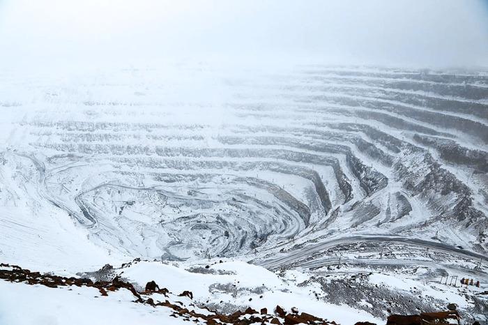 Рудник Скалистый - самый глубокий во всем мире / Фото: rtvi.com