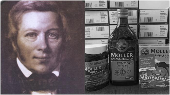 Благодаря фармацевту Петеру Меллеру рыбий жир приобрел популярность в качестве действенного средства от рахита / Фото: mollers.com.tr