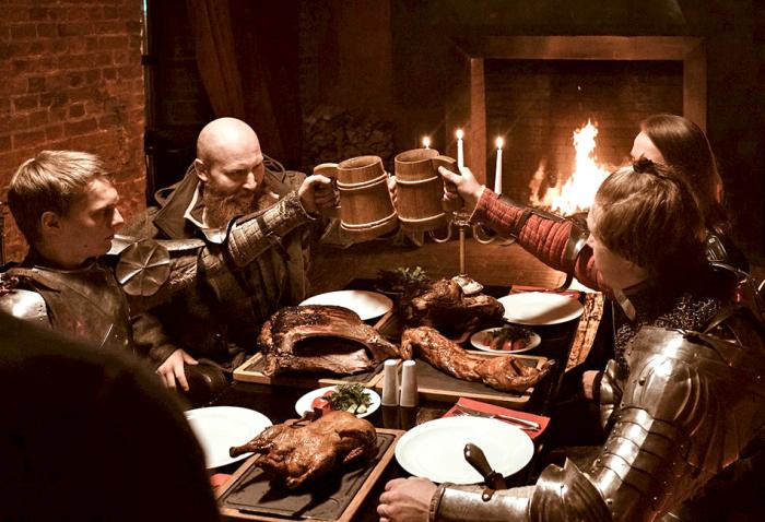 Тамплиерам разрешали пить не только воду, но и вино, молоко и даже пиво / Фото: val9670.livejournal.com
