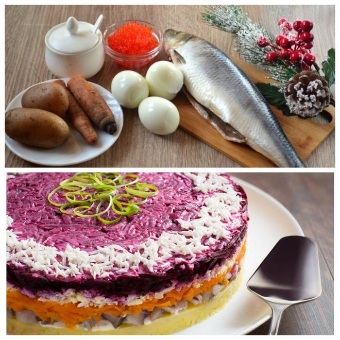 Продукты для салата / Фото: mircooking.ru