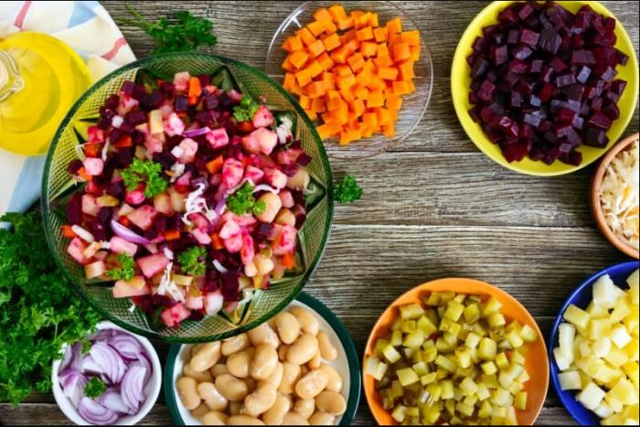 Ингредиенты для салата / Фото: yandex.ua