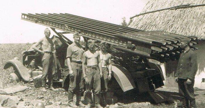 Несмотря на все это, у немцев в 1941 г. одна из таких «Катюш» появилась / Фото: test.waralbum.ru