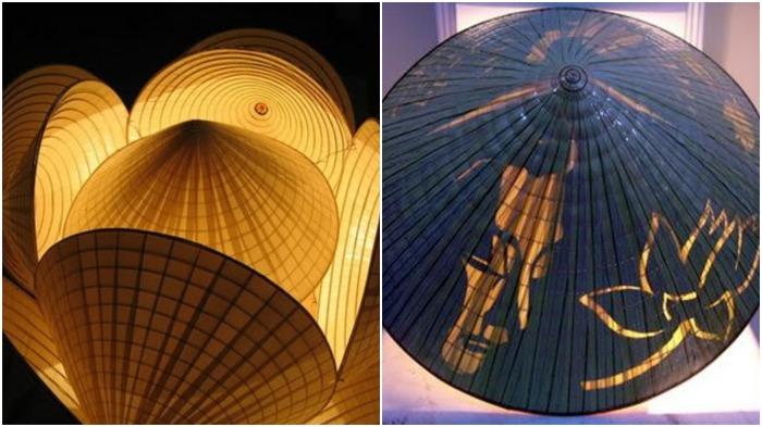 Коническая поэтическая шляпа Non Bai Tho, в отличие от классических вариантов, содержит сюрприз / Фото: en.baobacgiang.com.vn