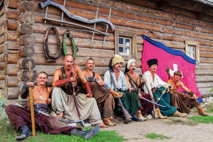 Но и такие казаки участвовали активно в боевых действиях, только воевали не в первом ряду / Фото: guideme.com.ua