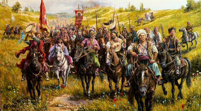 В зависимости от того, в каком ухе была серьга у казака, командиры ориентировались, отправляя бойцов в бой / Фото: guideme.com.ua