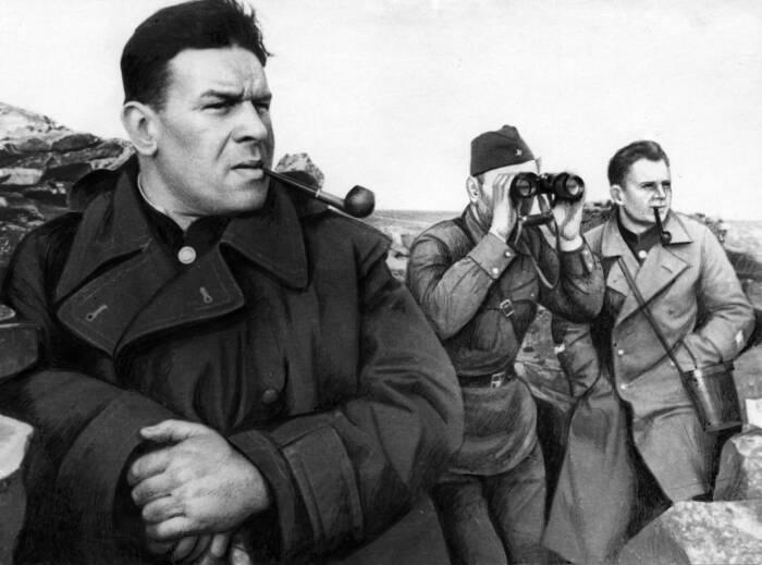 С. Кабанов, генерал-лейтенант, впоследствии вспоминал, что на склонах с северной части, крутых центральных и не настолько крутых западных и восточных было семь наших опорных пунктов / Фото: livelib.ru