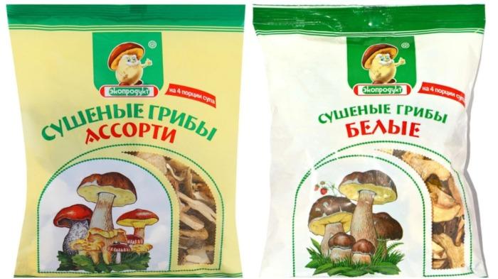 Сегодня в супермаркетах в упаковках продаются достаточно недорого сушеные лесные грибы / Фото: imall.com