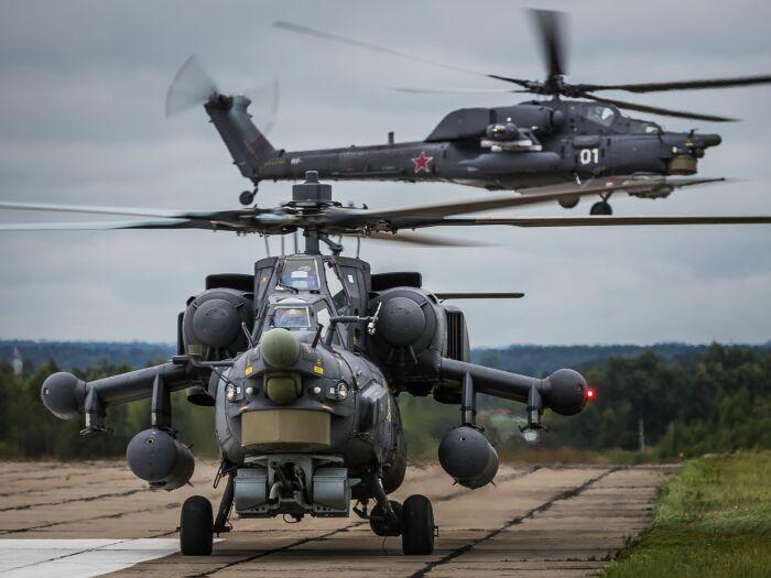 Преимуществом колесных шасси является способность вертолета совершать взлет с разбега / Фото: vestikavkaza.ru