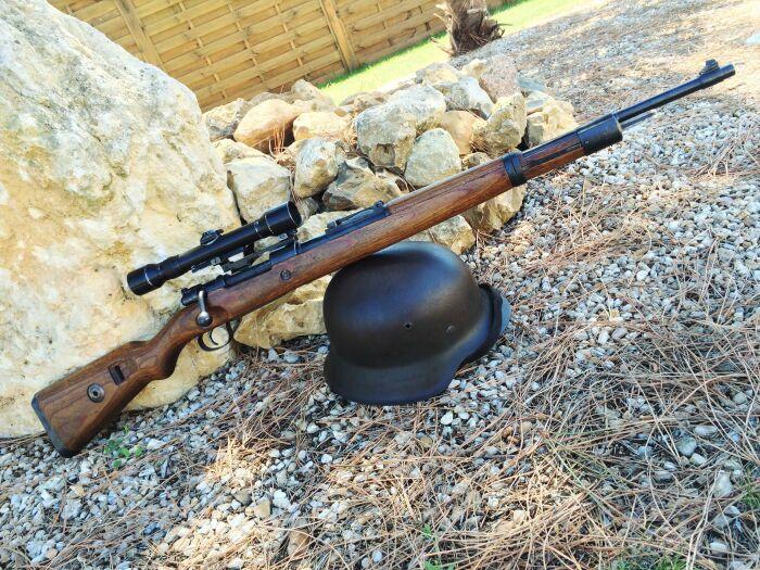В арсенале немецких снайперов были винтовки Маузера 98 и 98-К / Фото: artfile.ru