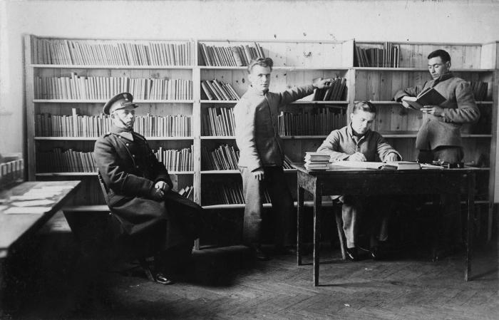 Тюрьма была оборудована большой библиотекой с научными, публицистическими и художественными изданиями / Фото: asp.katowice.pl