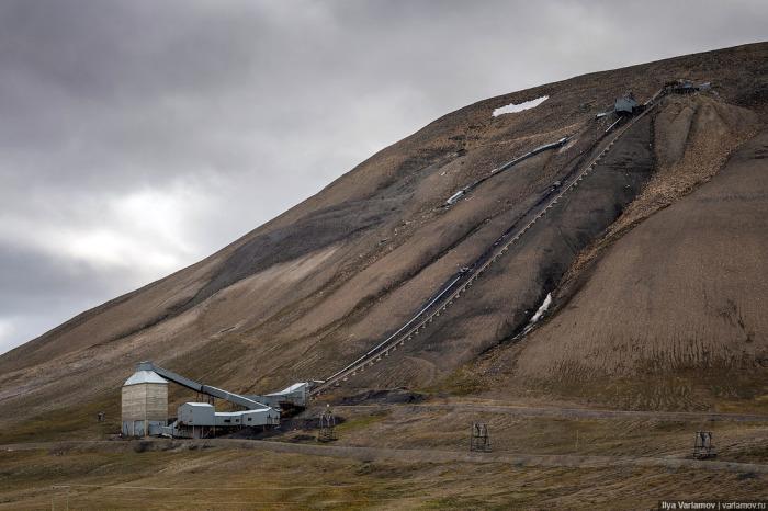 С 1931 года на архипелаге активно начали добывать уголь / Фото: m.123ru.net