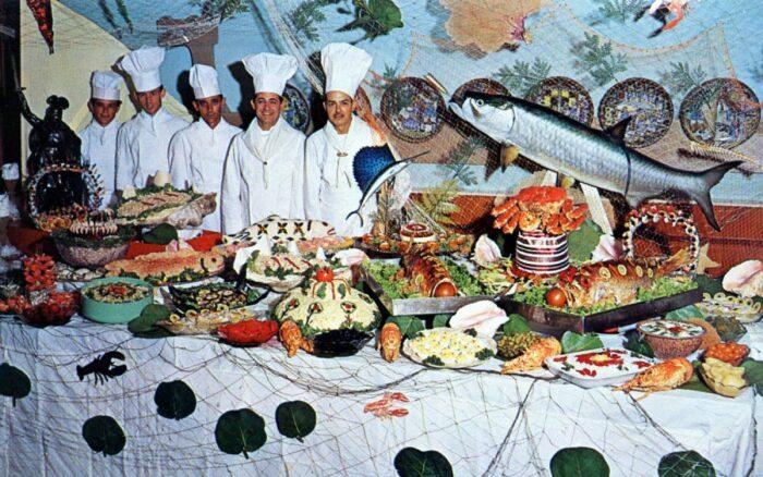 Историк-путешественник вспоминал, что когда он плыл на корабле шведов, в столовой было изобилие различной еды / Фото: imageban.ru