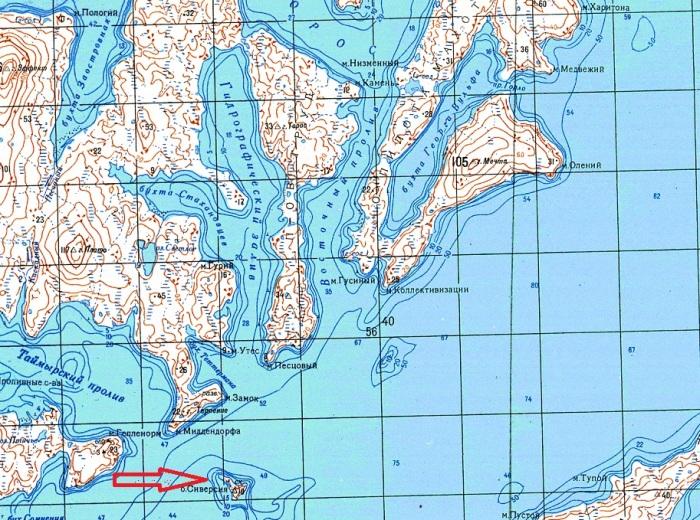 Сиверсия - миниатюрный островок в Карском море / Фото: yandex.ru