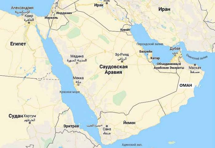 Оман занимает территорию площадью чуть более 309 тыс. кв.км / Фото: putevye-istorii.ru
