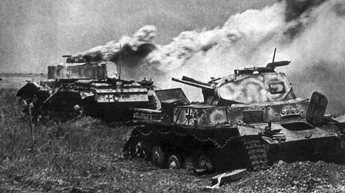 Нехватка сырья также сказывалась и на броне немецких танков / Фото: yandex.ru