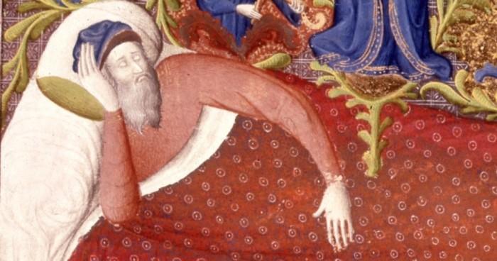 В Средневековье люди верили, что если спят сидя, то их не хватит удар / Фото: vashurok.ru