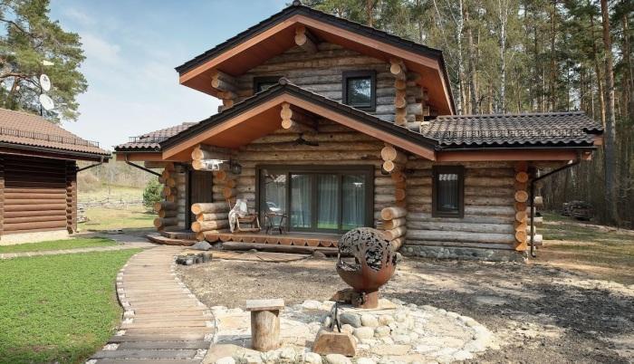 Строительство дома из сосны кело - правильное решение, хотя и не очень дешевое удовольствие / Фото: pro-remont.mediasalt.ru