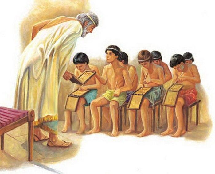 Спартанские мальчики с раннего детства обучались в специальных интернатах военного типа / Фото: pycckue-cka3ku.livejournal.com