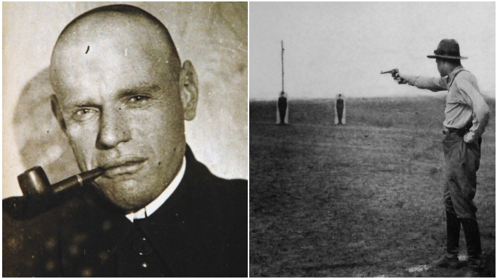 В 1942 г. Е. Гуревичу, инженеру из СССР, пришлось трудиться над созданием беззвучного револьвера, предназначенного для НКВД / Фото: shotguncollector.com
