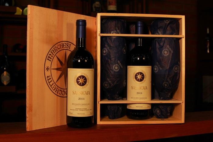 Наибольшее распространение получило вино Sassicaia, которое относится к категории «местные вина» или IGT / Фото: elvino.ru
