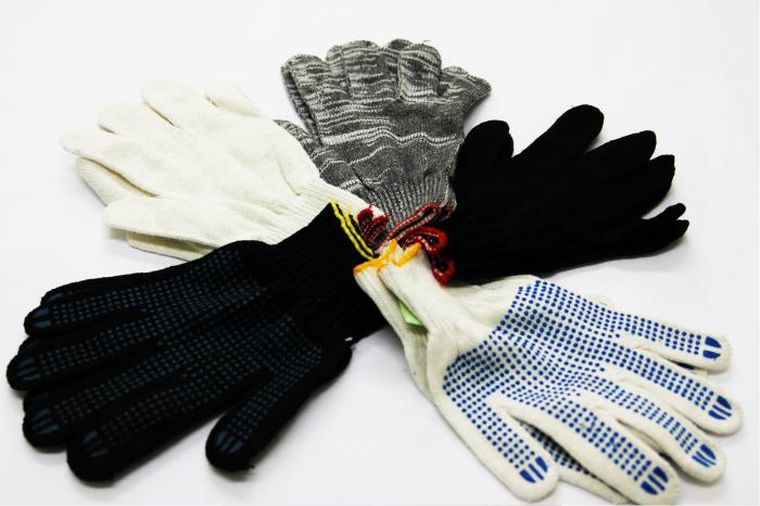 «Класс 10» – перчатки, имеющие плотную структуру, связанные из тонкой нити / Фото: hvaltex.ru