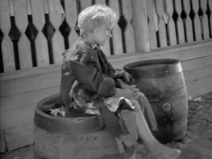 В роли Вани снимался Паша Борискин, которому на тот момент было шесть лет / Фото: kazanocheka.livejournal.com