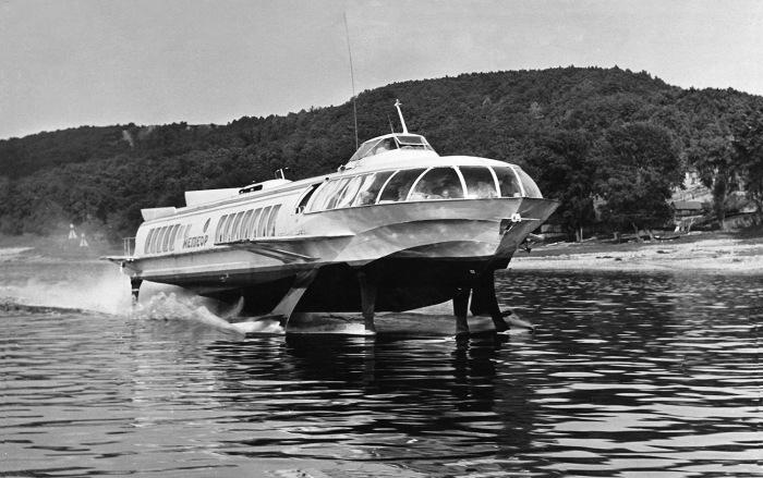 Из выпущенных во времена СССР скоростных судов «Метеор» стал самым удачным / Фото: fleetphoto.ru