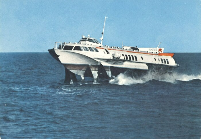 В серию скоростных судов вошли «Ракета», «Комета», «Полесье», но они были не такие востребованные / Фото: minskblog.livejournal.com