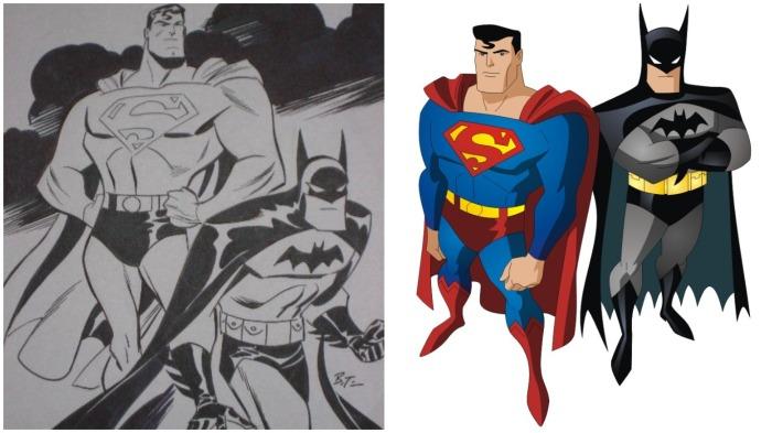 У Супермена появились «родственники», практически у всех была одна и та же отличительная деталь в облике – трусы, надетые поверх трико / Фото: cz.pinterest.com