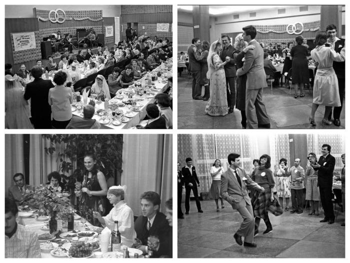 В СССР на свадьбе всего было вдоволь  / Фото: yandex.ua