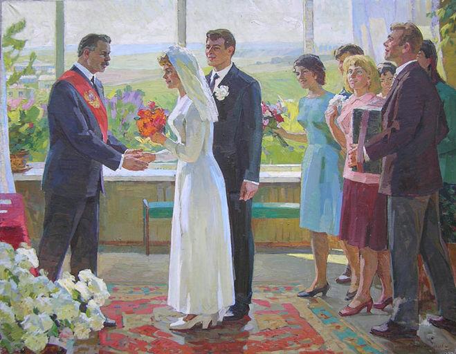 Стиль проведения свадьбы молодожены выбирали самостоятельно / Фото: zkan.com.ua