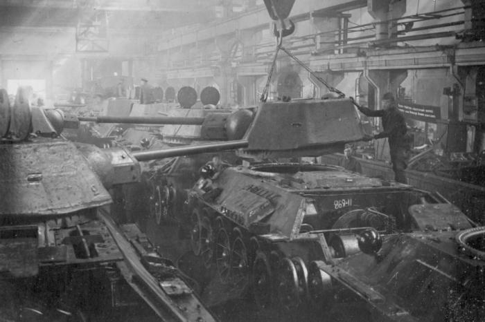 Именно на Харьковском заводе №183 в военные годы выпустили больше всего танков / Фото: t34inform.ru