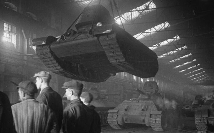Качество танков, изготовленных на этом заводе, было очень низкое / Фото: fotoload.ru